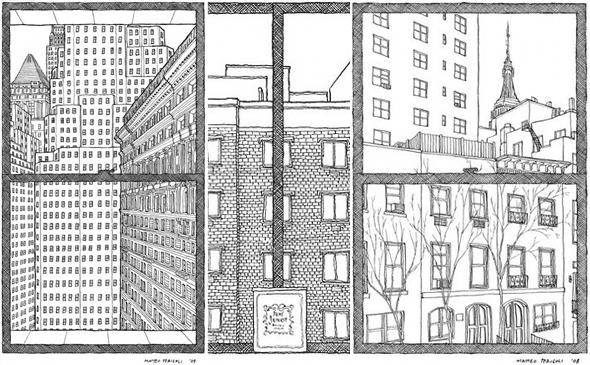 Line Drawing Nyc : The new york drawings of matteo pericoli matt hobbs